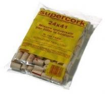 Supercork Range - Pack of 100 Top Quality 23mm by 38mm Synthetic Corks